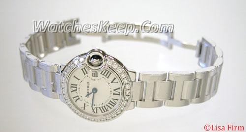 Cartier Ballon Bleu WE9003Z3 Mens Watch