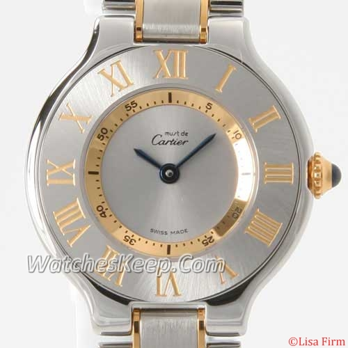 Cartier Must 21 W10073R6 Mens Watch