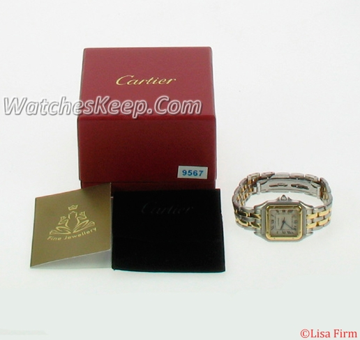 Cartier Panthere W25028B6 Ladies Watch