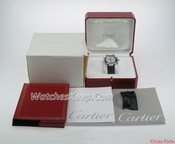 Cartier Pasha CA-10294S Mens Watch