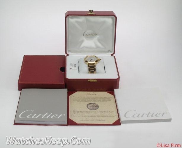 Cartier Pasha W30186H9 Mens Watch