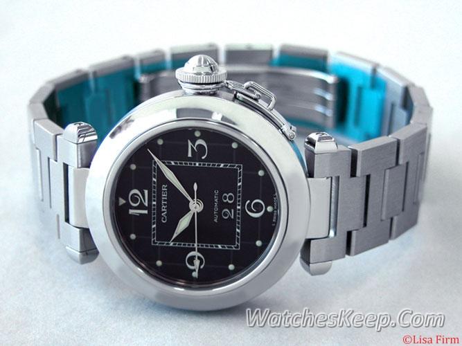 Cartier Pasha W31053M7 Mens Watch
