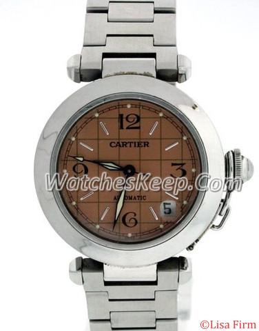 Cartier Pasha W31074M7 Brown Dial Watch