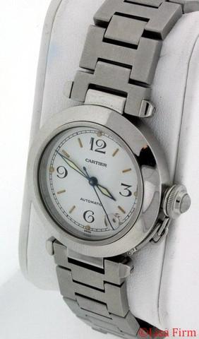 Cartier Pasha W31074M7 White Dial Watch