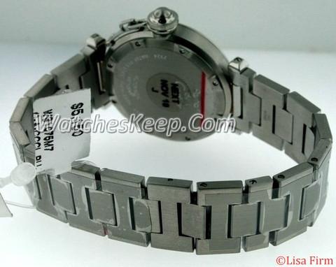 Cartier Pasha W31075M7 Midsize Watch