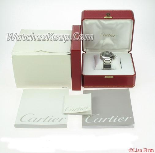 Cartier Pasha W31077M7 Mens Watch