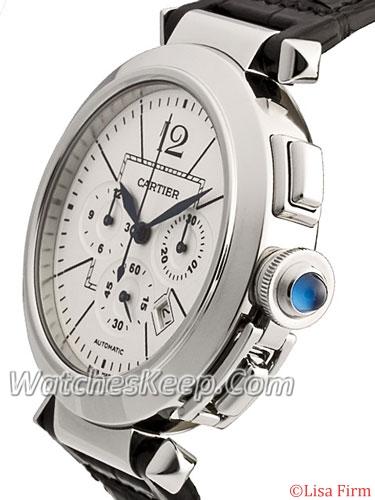 Cartier Pasha W3108555 Mens Watch