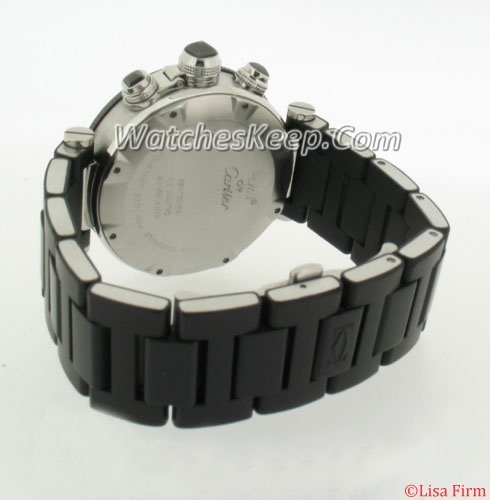 Cartier Pasha W31085M7 Mens Watch