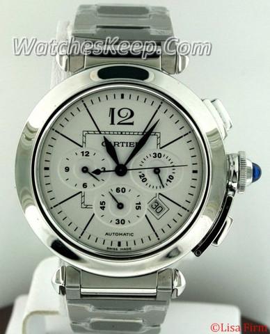Cartier Pasha W31085M7 Silver Dial Watch