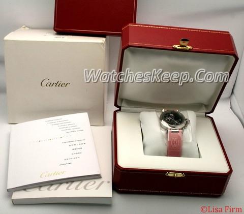 Cartier Pasha W3109599 Ladies Watch