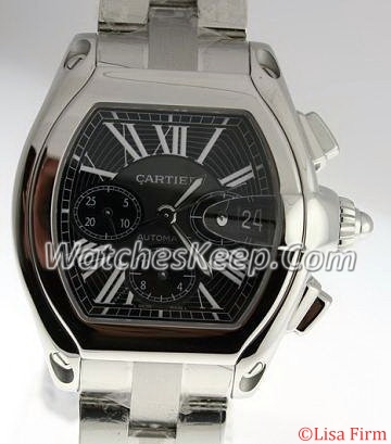 Cartier Roadster W62019X6 Beige Band Watch
