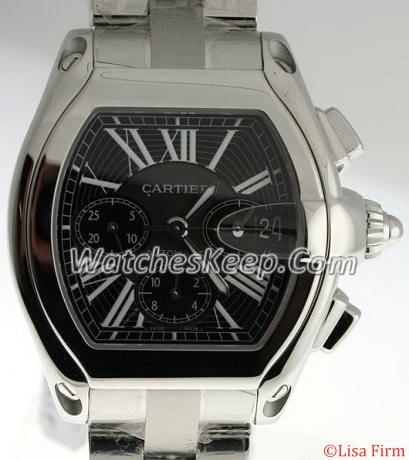 Cartier Roadster W62019X6 Beige Band Watch