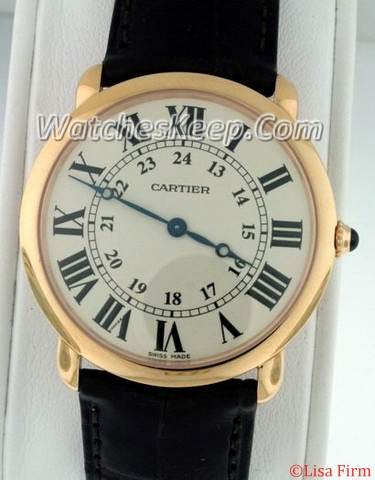 Cartier Ronde Louis W6800251 Mens Watch
