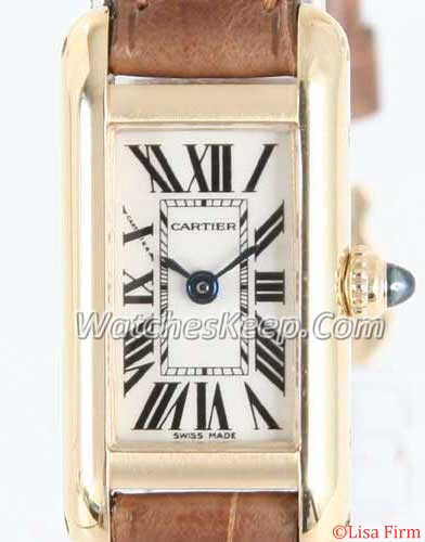 Cartier Ronde Solo W1529956 Ladies Watch