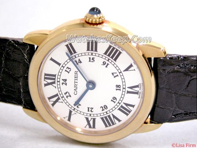Cartier Ronde Solo W6700355 Mens Watch