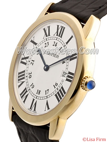 Cartier Ronde Solo W6700455 Mens Watch