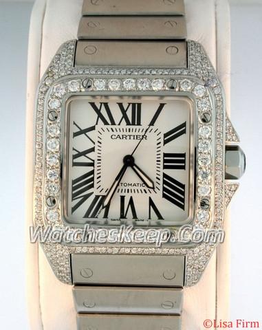 Cartier Santos 100 W200737G Automatic Watch