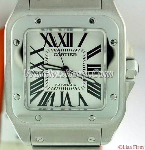 Cartier Santos 100 W200737G Mens Watch
