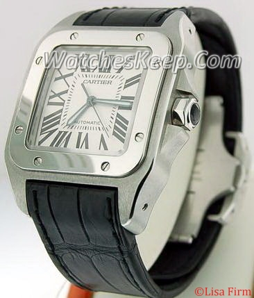 Cartier Santos 100 W20073X8 Mens Watch