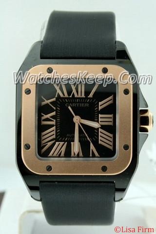Cartier Santos 100 W2020007 Midsize Watch