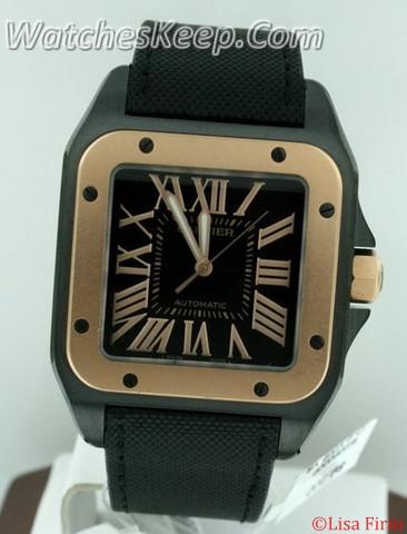Cartier Santos 100 W2020009 Mens Watch