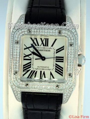 Cartier Santos 100 WM501751 Midsize Watch