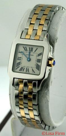 Cartier Santos Demoiselle W25066Z6 Ladies Watch
