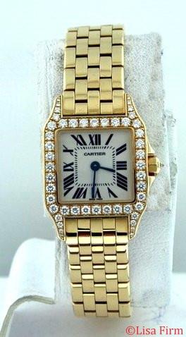 Cartier Santos Demoiselle WF9001Y7 Ladies Watch