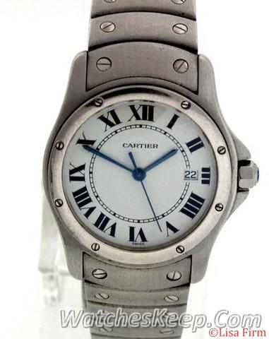 Cartier Santos Ronde Ladies Watch