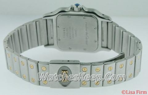 Cartier Santos W20011C4 Mens Watch