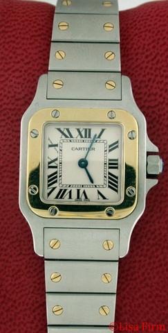 Cartier Santos W20012C4 Ladies Watch