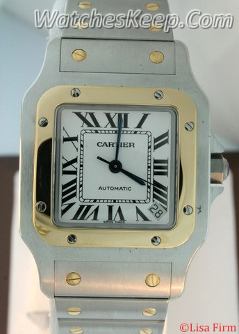 Cartier Santos W20099C4 Mens Watch