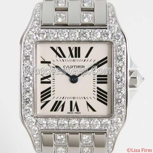 Cartier Santos WF9003YC Mens Watch