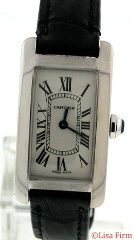 Cartier Tank Americaine W2601956 Quartz Watch