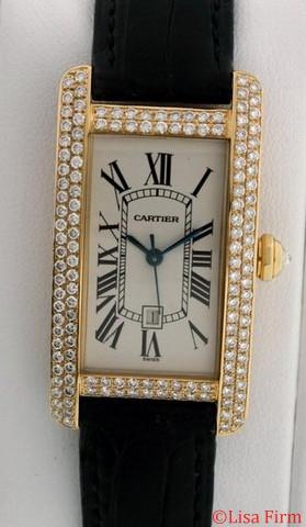 Cartier Tank Americaine W2603556 Automatic Watch