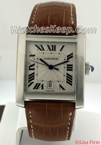 Cartier Tank Francaise W51002Q3 Mens Watch
