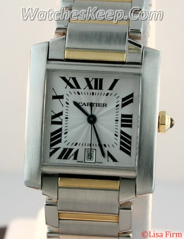 Cartier Tank Francaise W51002Q4 Mens Watch