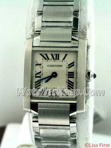 Cartier Tank Francaise W51008Q3 Ladies Watch