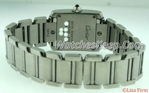 Cartier Tank Francaise W51008Q3 Quartz Watch