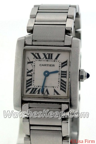 Cartier Tank Francaise W51008Q4 Ladies Watch