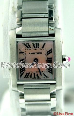 Cartier Tank Francaise W51028Q4 Ladies Watch