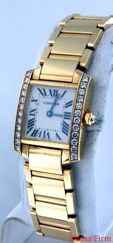 Cartier Tank Francaise WE1001R8 Ladies Watch