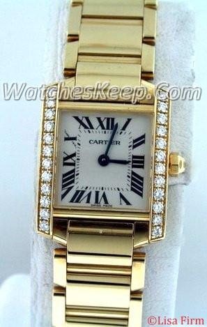 Cartier Tank Francaise WE1001R8 quartz Watch