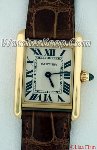 Cartier Tank Louis W1529856 Ladies Watch