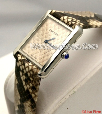 Cartier Tank Solo W5200021 Ladies Watch