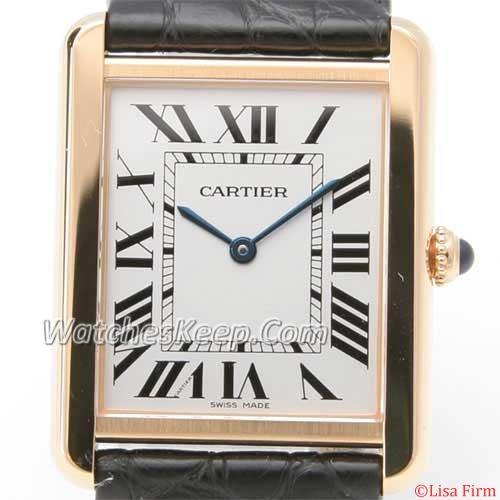 Cartier Tank W1018855 Mens Watch