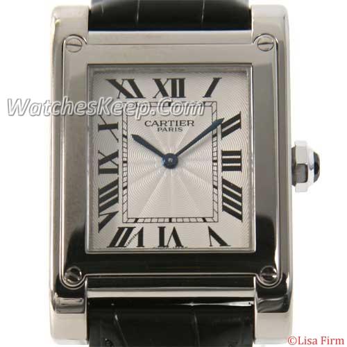Cartier Tank W1540451 Mens Watch