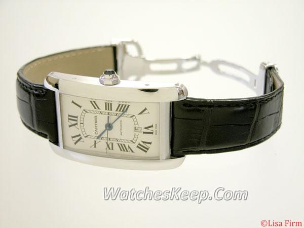 Cartier Tank W2609956 Mens Watch