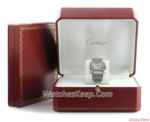 Cartier Tank W51002Q3 Mens Watch