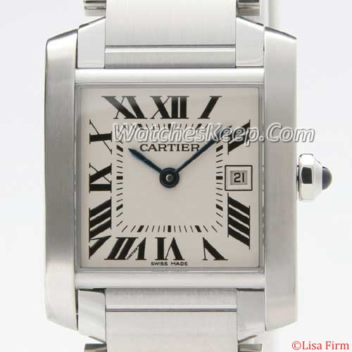 Cartier Tank W51011Q3 Mens Watch